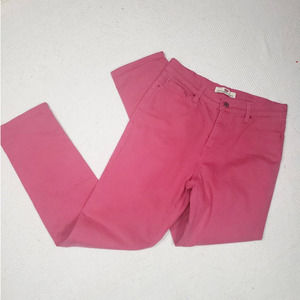 Levi's 512 Perfectly Slimming Pink Sz 12